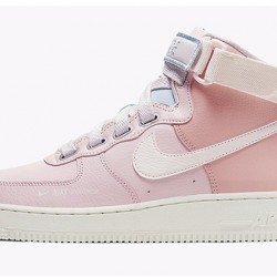 2020 Nike Air Force 1 Mid Pink Running Shoes AF1 CQ4810 621 Womens Sneakers