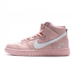 2020 Nike SB Zoom Dunk High PRO Pink White Running Shoes 854851 200 Womens Sneakers