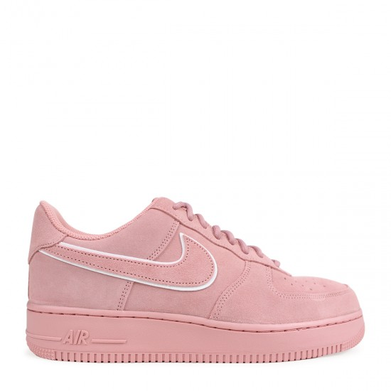 2020 Nike Air Force 1 Low Suede Pack Red Stardust AA1117 601 Unisex Womens Shoes