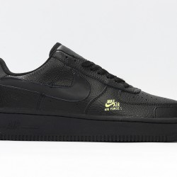 Air Force 1 All Black Unisex Casual Shoes CV3039-001 Sneakers