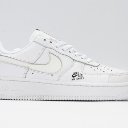 Air Force 1 All White Unisex Casual Shoes CV3039-100 Sneakers