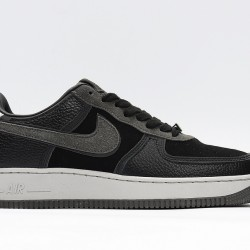 Air Force 1 Hand Wash Cold Low Black Gray Unisex Shoes CQ1087-001 AF1 Sneakers