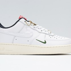 KITH x Air Force1 Ronnie Fieg Low White Black Unisex Sneakers CU2980-193 AF1 Running Shoes