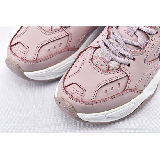 Nike M2K Tekno Womens Pink White Sneakers AO3108-500 Running Shoes