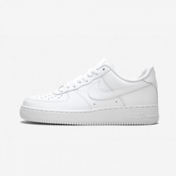 """Nike Air Force 1 07 """"White on White"""" 315122 111 White White/White Running Shoes"""