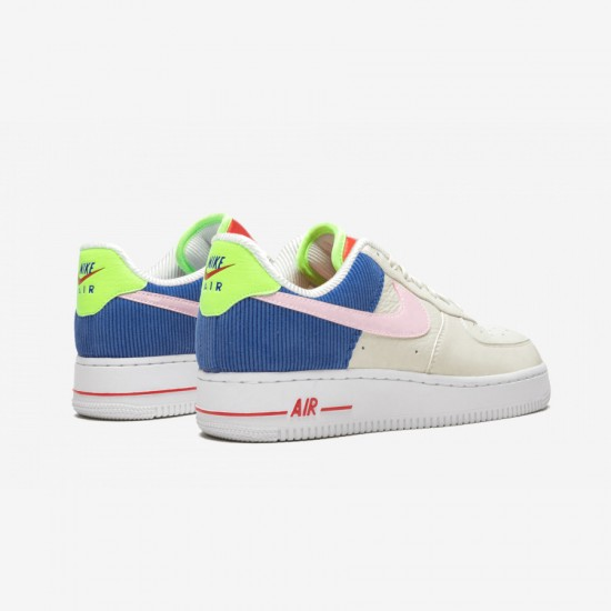 Nike Womens Air Force 1 LO AQ4139 101 Multicolore Sail/Articpinkracerblue Running Shoes