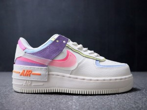 Very Beautiful!Wmns Air Force 1 Shadow Beige Casual Shoes