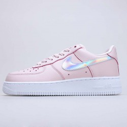"""Nike Air Force 1 Low """"Pink Iridescent"""" Running Shoes CJ1646 600 WMNS AF1 Sneakers"""