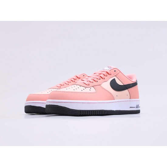 """Nike Air Force 1 Low Peach Pack """"Pink Quartz"""" Running Shoes CU6649 100 Unisex AF1 Sneakers"""