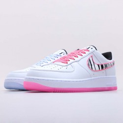 Nike Air Force 1 Low South Korea White Pink Black CW3919 100 Unisex AF1 Sneakers