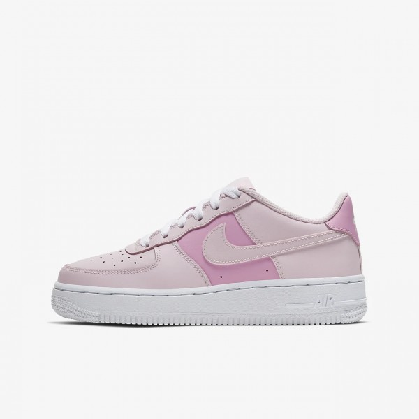 """Nike Air Force 1 GS """"Pink Foam"""" Pink/White Running Shoes CV9646-600 Womens AF1 Sneakers"""